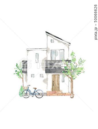 マイホーム、シンボルツリー、自転車 50066626