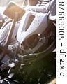 モーターサイクル 大型アメリカンバイクの洗車 50068878