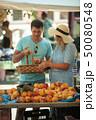 モモ属 市 マーケットの写真 50080548