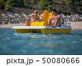 双胴船 カタマラン船 ビーチの写真 50080666