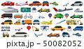 マンガ 車 自動車のイラスト 50082052