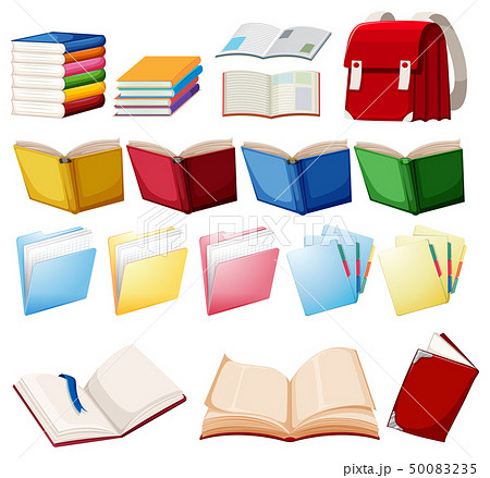 Set of book object 50083235