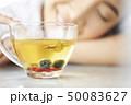 女性 ティータイム お茶の写真 50083627