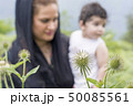 Nature exploration concept mother and young child 50085561