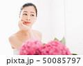 アジサイ 紫陽花 花の写真 50085797