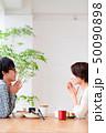 朝食シーン 夫婦 カップル 50090898