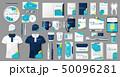 Corporate medical center Branding identity template design. Modern Stationery mockup for Dental 50096281