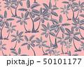 Seamless tropical palms pattern. Summer endless 50101177