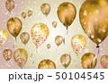 バルーン 風船 背景のイラスト 50104545