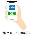 カード払い キャッシュレス決済 オンライン決済のイラスト 50108606