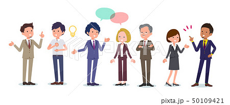 office scene_Communication group A 50109421