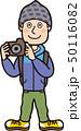 カメラを持つ男性 50116082