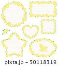 水彩 バラ フレーム 50118319