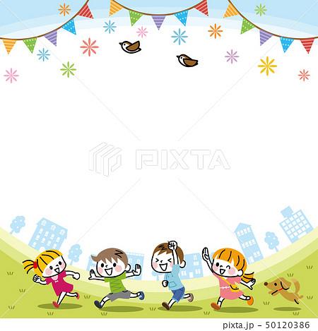 子供たちのフレーム 50120386