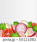 背景 ベジタブル 野菜のイラスト 50121082
