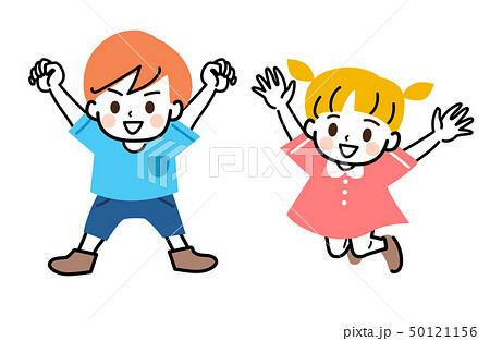子供 兄弟 兄と妹 全身 セット 50121156