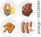 食 料理 食べ物のイラスト 50126084