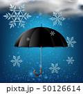 ゆき スノー 雪のイラスト 50126614
