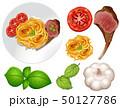 パスタ パスタ料理 お皿のイラスト 50127786