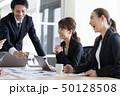 会議 ビジネス 人物の写真 50128508