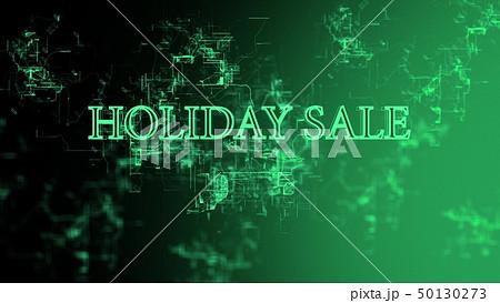 "Digital network. Sign ""Holiday Sale"" 50130273"