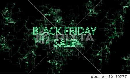 """Digital network. Sign """"Black Friday Sale"""" 50130277"""