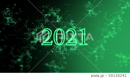 """Digital network. Sign """"2021"""" 50130291"""