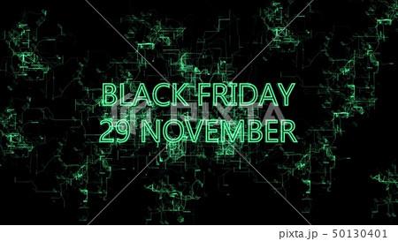 "Digital network. Sign ""Black Friday 29 November"" 50130401"
