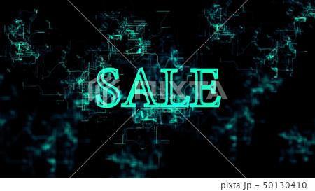 """Digital network. Sign """"Sale"""" 50130410"""