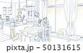 イラスト/家族団らん 50131615