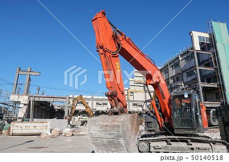 解体工事の現場 50140518