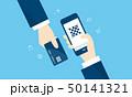 QRコード決済とクレジットカードのイメージ 50141321