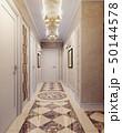 広間 回廊 クラシックのイラスト 50144578