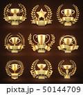 金色 黄金色 ゴールデンのイラスト 50144709