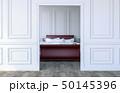フトン 寝具 ベッドルームのイラスト 50145396