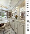 浴室 クラシック 古典のイラスト 50145554