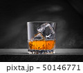 Glass of whiskey 50146771