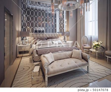 Bedroom in modern style 50147078