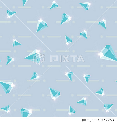 Vector seamless retro pattern, with diamonds. Can 50157753
