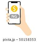 ドル キャッシュレス決済 決済のイラスト 50158353