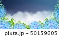 紫陽花 梅雨 雨のイラスト 50159605