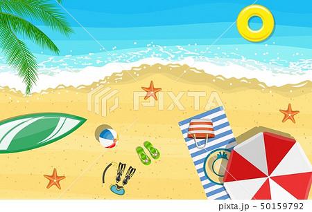 Summer Beach Vacation Sunbed 50159792