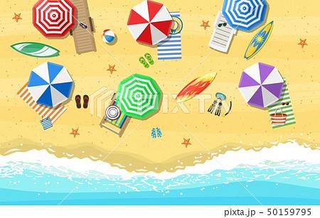 Summer Beach Vacation Sunbed 50159795