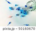 クラフト(青い花2) 50160670