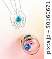 クラフト(青い花3) 50160671
