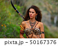 射手 矢 女性の写真 50167376