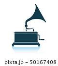 アイコン イコン 蓄音機のイラスト 50167408
