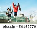子供 スケートパーク ポートレイト 50169779