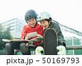 子供 スケートパーク スマホ 50169793