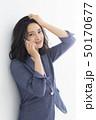 女性 ヘアスタイル ミドルの写真 50170677